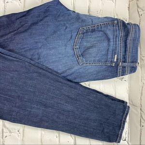 Fidelity denim scoop low rise skinny jeans